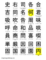5 nguyên tắc hiệu quả các ký tự Trung Quốc