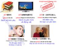 Học ngữ pháp tiếng trung giới từ 关于