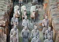 Mộ Tần Thủy Hoàng và đội quân đất nung 8000 binh mã