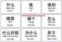 Cách đặt câu hỏi trong tiếng Trung