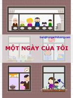 Từ vựng và mẫu câu tiếng Trung kể về một ngày của tôi