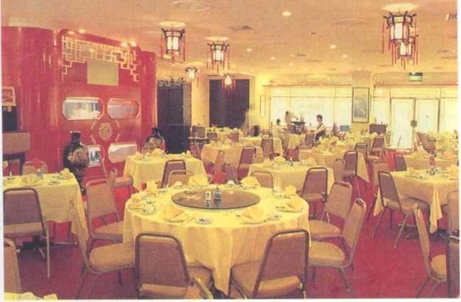 Nội thất nhà hàng Thành Long 1