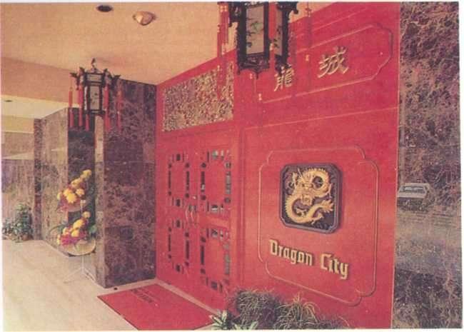 Nội thất nhà hàng Thành Long