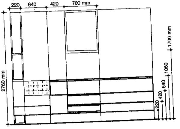 đơn vị đo tỷ lệ cạnh_phong thủy trong trang trí nội thất