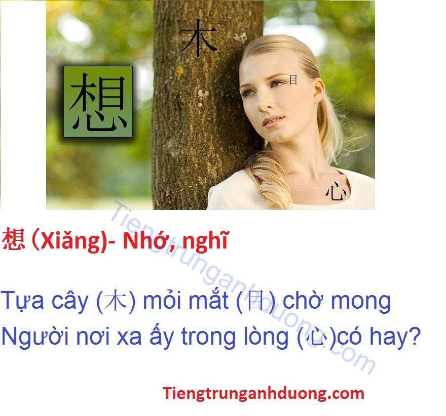 Câu hỏi và đáp án trắc nghiệm học chữ Hán qua thơ