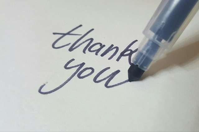 Bày tỏ lòng biết ơn trong tiếng Trung