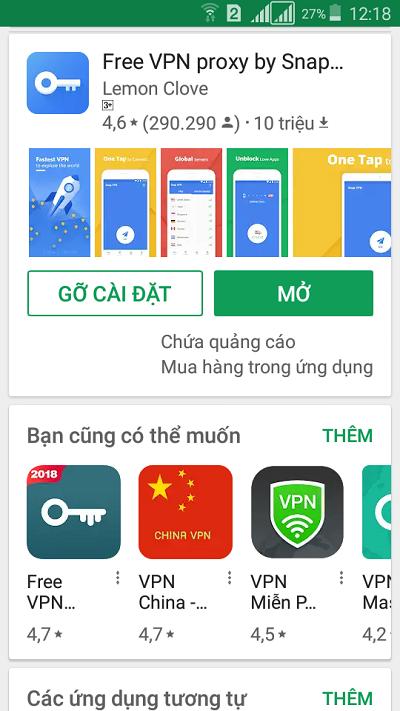 Snap VPN 01