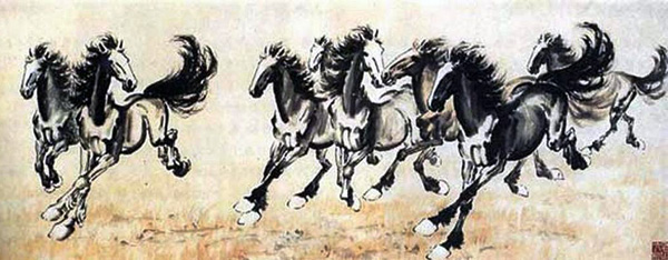 Ngựa-Từ Hồng Bi