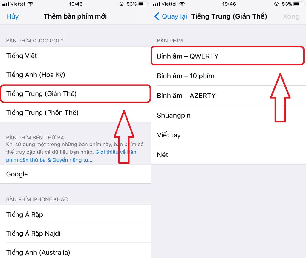 cách cài bộ gõ tiếng Trung trên điện thoại 03