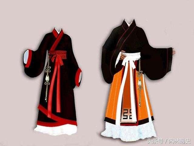 Trang phục nam nữ thời Chu