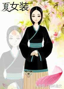 Trang phục nữ thời nhà Hạ
